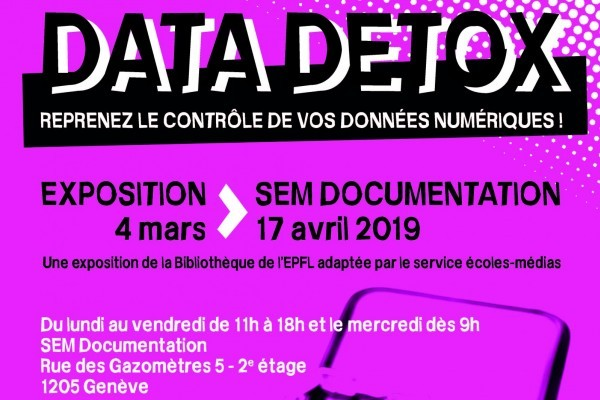 Exposition au SEM: Data Detox