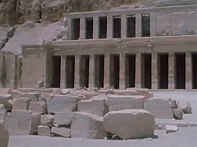 Égypte ancienne VI : Un temple funéraire, Hatshepsout