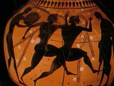 Grèce antique VII : L'Olympe et les jeux