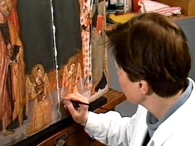 Les Coulisses des musées III : Restauration et analyse des peintures
