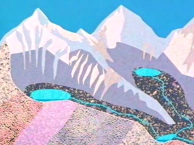 Formation du paysage genevois III : Modeler le paysage