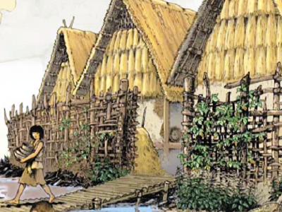 Maisons dans une station littorale lémanique