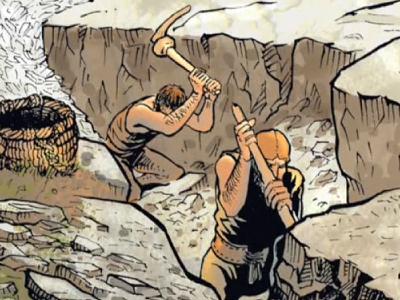 L'Exploitation d'une mine de cuivre à Satarma