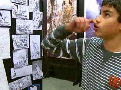 Ateliers du regard I : Visite de l'expo «Créatures d'Ouessant»