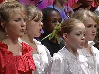Tutti Fan Frutti : opéra pour un orchestre et un chœur d'enfants