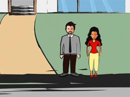 La justice civile: le divorce entre Fabienne et Alexandre