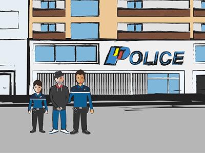 La justice pénale: sur la piste du cambrioleur