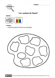 10. Les couleurs de Thymio