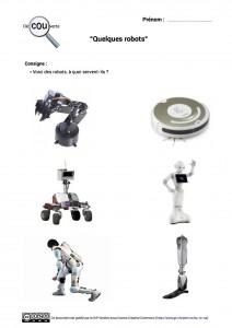 7. Quelques robots