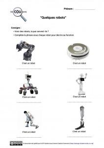8. Quelques robots