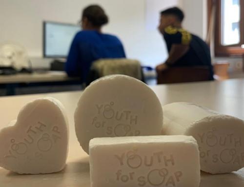 Le projet Youth for Soap se développe à l'Espace entreprise