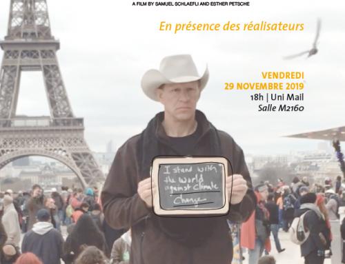 Film The Climate Changers: mobilisation citoyenne autour du climat (29.11 à 18h à Unimail)