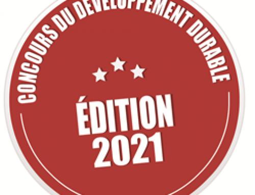 Concours développement durable 2021 (également ouvert aux écoles) délai 31 mars 2021