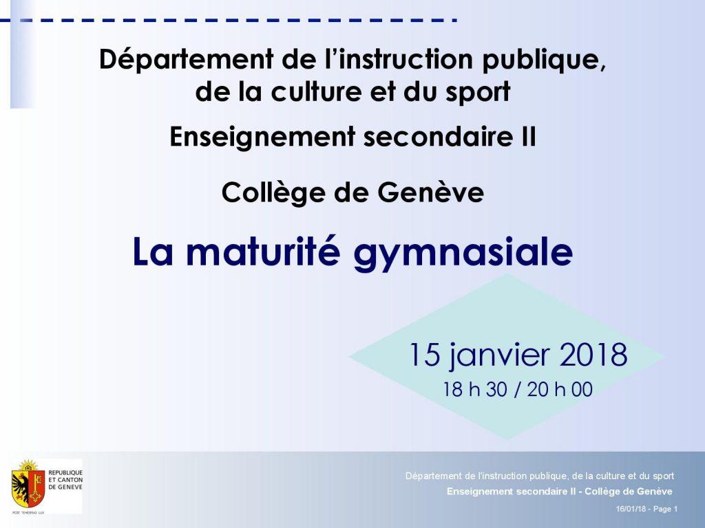 Presentation CdG - Ellipse du 15 janvier 2018