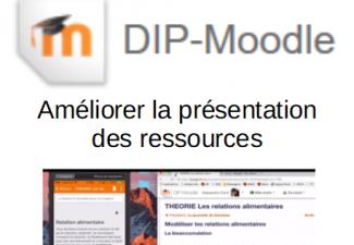 Moodle: Devenir autonome – Améliorer la présentation des ressources / SEM-10902