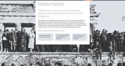 Ressources pédagogiques : différents médias sur l'Histoire
