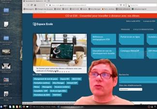 Créer des vidéos pédagogiques avec incrustation en direct avec le logiciel OBS Studio / SEM-10507