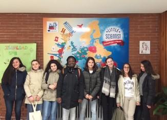 Les scientifiques du projet Erasmus du cogc