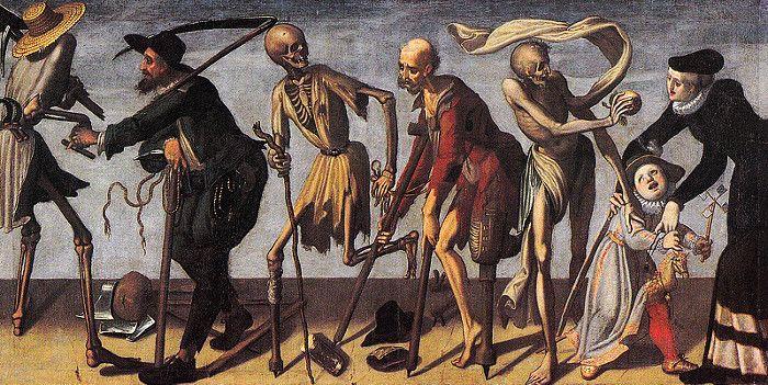 Danse macabre de Jakob von Wyl (1586-1619) à Lucerne
