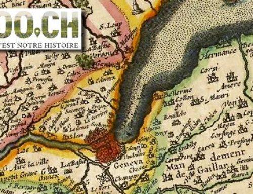 Genève en carte