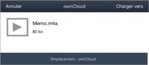 Transférer son_ownCloud2