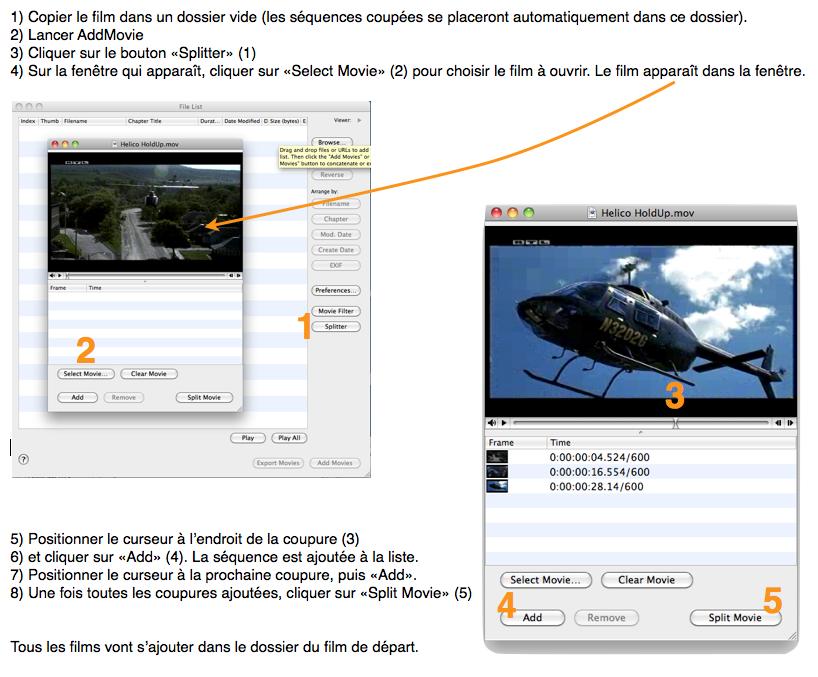 Couper un film en plusieurs parties utilisation logiciel - Logiciel couper video mac ...