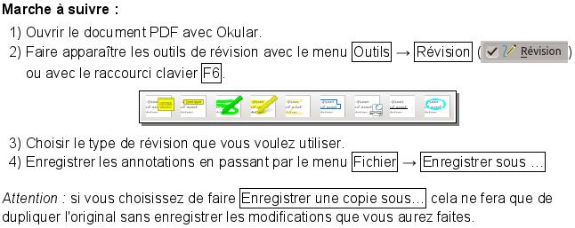 annoter un fichier pdf avec  u0026quot okular u0026quot