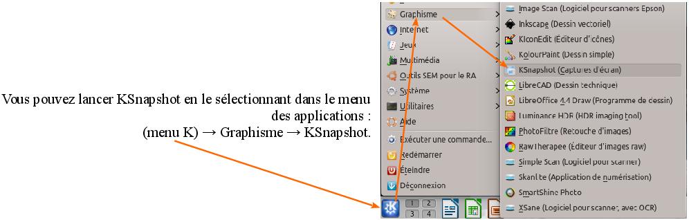 Capture d 39 cran sous kubuntu utilisation logiciel for Photo ecran logiciel